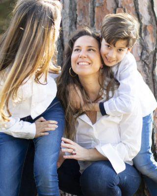 Fotografía de familia.